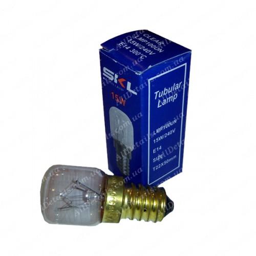 Лампочка духовки Е14 15W (49001)