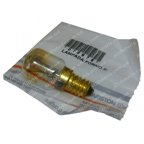 Лампочка духовки 25Вт Е14 (76978)