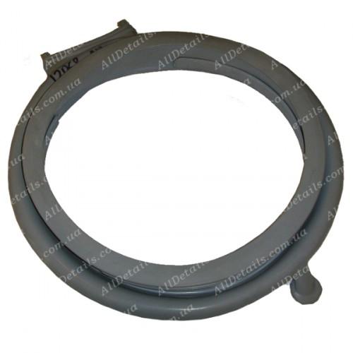 Резина люка (манжет) с отводом под сушку Ardo 404001200, 481946818285, 651008694 (12068) GSK009AD